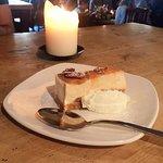 Amazing cheesecake, yum!