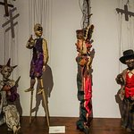 more puppets on display
