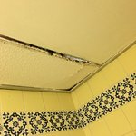 Ceiling tile molding and falling down
