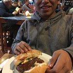A large Guajimbos burger.