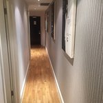 Corridor and lounge area