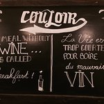 Photo de Couloir Bar & Restaurant