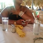 Great Food as u can see I was enjoying it😋😋