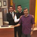 With Prantap Sharma & Chirag Yadav