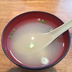 Miso Soup served with Lunch Special