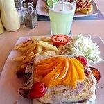 Mozarella Haiti for lunch