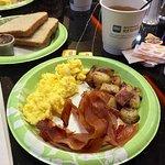 Excellent breakfast.
