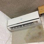 tache humidité au mur