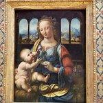 La Virgen del calvel (Leonardo da Vinci)