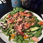 Super Food Salad + Salmon