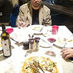 First time in my life after 55 years, I tasted pizza and pasta on the advice of Mr Gurvinder at