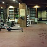 Needs more and newer fitness equipment