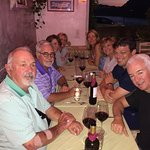 Our group of Canadians and Americans at Vivaro Wine Bar