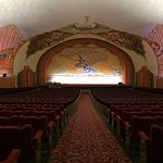 """One of the first theaters in the country to show """"talkies""""."""