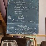 """Nouvelle formule """"assiette gourmande et dessert à 13,50€"""" au déjeuner"""