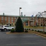 Hilton Garden Inn Williamsburg Front Entrance