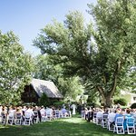 Outdoor wedding ceremonies - choose from 12 outdoor locations on our 200 acre property