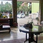 Bagian Lobby hotel
