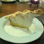 Another lovely meal finished with homemade lemon meringue pie. Lovely people too