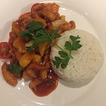 Sweet & Sour Stir Fried with chicken