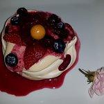 Eton Mess & fruit coulis