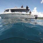 "KoroSun Dive's boat ""Bligh Explorer"""