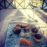 misto dessert panettone meringhe e mascarpone (offerto dalla casa)