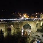 Puente de Alcantara de noche