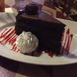 7 layer chocolate cake. Delicious!!