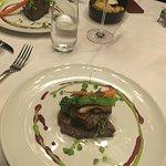 Ostrich Filet and Filet Mignon