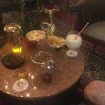 we loved the Amarula milkshakes!