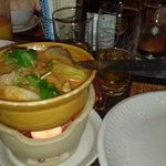 can't remember what this soup (starter) was called but it was spicy and had prawns in it