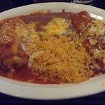 Chile Relleno & Chicken Enchilada