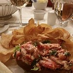 Lobster Roll at Parker's Restaurant (Omni Parker House)