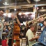 A Jazz Band Plays Every Night around 6 p.m. or so