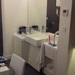 sink/mini bar mirror combo