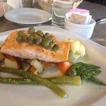 salmon with potatoes