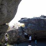 Split rock area