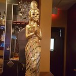 The statue of a Thai culture.