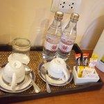 Free water , tea and coffee