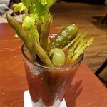bloody mary! With a side salad :)