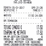 The main dishes receipt