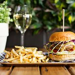 $20 Burger and Beer or Wine every Wednesday