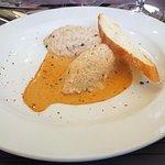 Rillettes de thon sauce crustacés