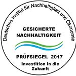 Prüfsiegel/Nachhaltigkeitszertifikat 2017