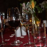 great wine list too