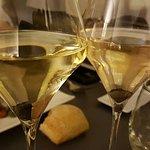 Verre de vins blanc