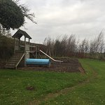 Children's play area outside Fisher Gill cottage