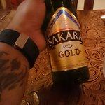 Nice cold sakara beer