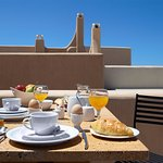 Breakfast on private veranda